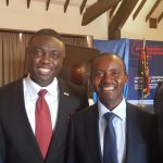 With Kenyan ICT minister, Joseph Mucheru
